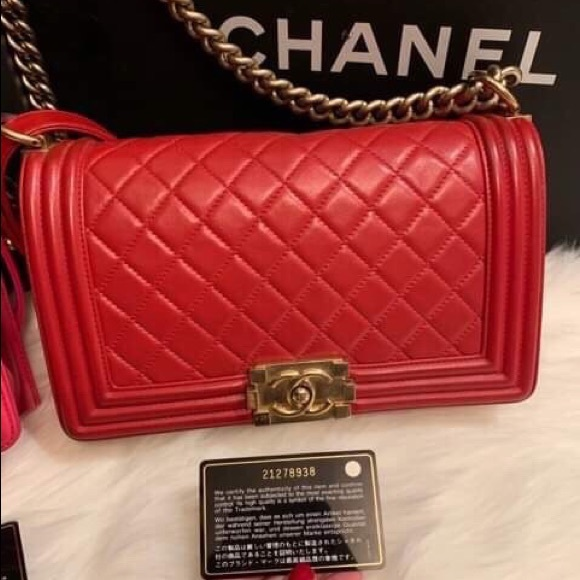 CHANEL Handbags - Chanel - Old Boy Medium, EUC